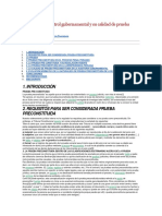El Informe de Control Gubernamental y Su Calidad de Prueba Preconstituida