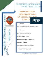 Estudio Hidrologico Cuenca Del Rio Chicama PDF 01docx