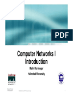 Computer Networks I Introduction