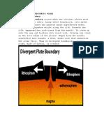 3 Types of Tectonics Plate