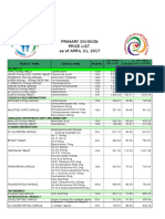 T1mi12 2017 Price List