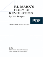 Hal Draper - Karl Marx's Theory of Revolution, Vol. 1_ State and Bureaucracy 1(1977, Monthly Review Press)
