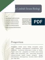 Pengelolaan B3 Secara Biologi Fix