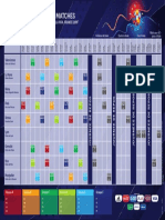 Calendrier des matches de la coupe du monde 2019