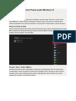 tugas wahyu Fungsi Fitur Control Panel pada Windows 8.doc
