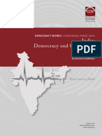 India - Democracy and Corruption