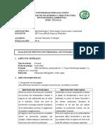 Analisis de Prevencion Primaria, Secundaria y Terciaria