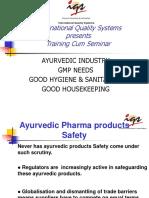 GMP for Ayurvedic.pdf