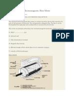 Dimensionare-Electromagnetic Flow Meter