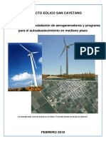 Proyecto Eolico Para San Cayetano Actualizado 1-2-18