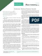 Journal of Psychiatry & Mental Disorders