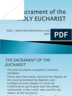 Sacrament of the Holy Eucharist