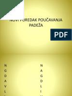 Novi Poredak Padeža u Hrvatskom Jeziku