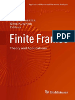 Peter G. Casazza, Gitta Kutyniok, Friedrich Philipp (Auth.), Peter G. Casazza, Gitta Kutyniok (Eds.) - Finite Frames Theory and Applications