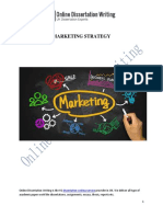 Analysis of Various Marketing Strategies for Company Growth.