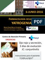 Yatrogenia farmacológica oftalmológica
