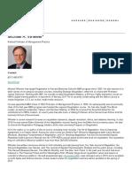 Michael a. Wheeler - Faculty & Research -