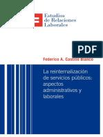 La reinternalización de servicios públicos