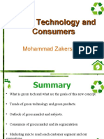 Green Technology and Consumers