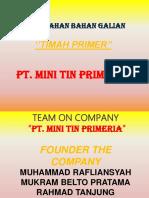 Timah Primer Colour