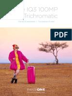 IQ3 100MP Trichromatic Brochure 20170911
