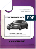 Manual de Reparabilidad VW Golf GTI MK3