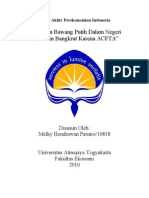 Tugas Akhir Perekonomian Indonesia