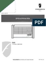 Friedrich CP15CP18CP24 Service Manual