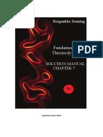 Termodinâmica - 8ªed - Soluções Em Inglês Cap 7
