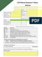 CSA Assessment Form