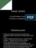 Triage Update 2015