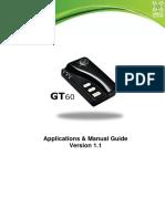 GT60 Manual Guide V1.1