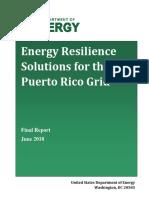 Informe del Departamento de Energía de Estados Unidos