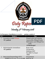 Duty Report 05 Feb 2018 CAR 212