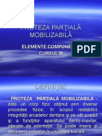 Protezelor Partiale