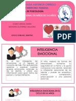Inteligencia Emocional en Niños de 3-6 Años