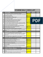 Store Manager Checklists