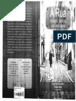 A Rua Espaço Tempo e Sociabilidade