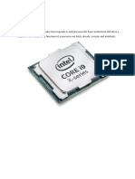 comouter it processor