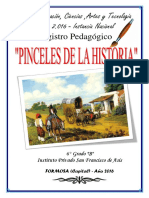 registro pedagogico PINCELES