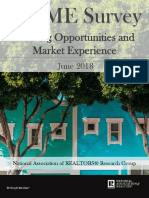 2018 Q2 Homeownership Opportunities and Market Experience (HOME) Survey