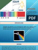 Diapositivas Espectro Solar