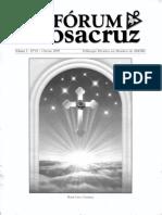 Fórum Rosacruz - Vol. 1 - N. 1 - Outono 2009