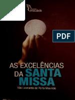 As Excelencias Da Santa Missa - Sao Leonardo de Porto Mauricio