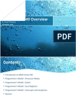 ARM Cortex-M0 Overview