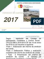 presentacion Rendicion de cuentas 2017 ............pptx