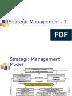 Strategic Management 07