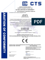 CTS CNB3110224 00459 E Cable Gland EMC 证书