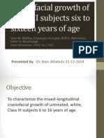 Hani1_Craniofacial Growth of Class III Subjects