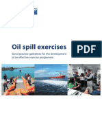 Oil Spill Exercises